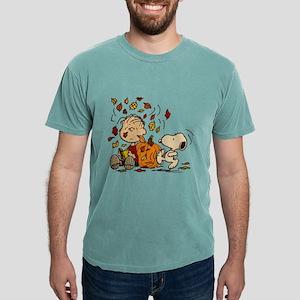 Fall Peanuts Mens Comfort Colors Shirt