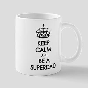Keep Calm Superdad Mug