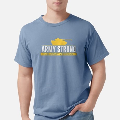 Army Strong Mens Comfort Color Shirt