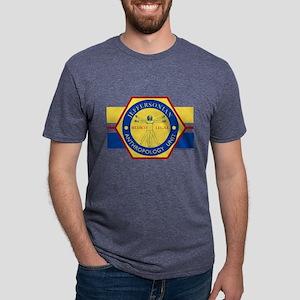Bones Jeffersonian Anthropo Mens Tri-blend T-Shirt