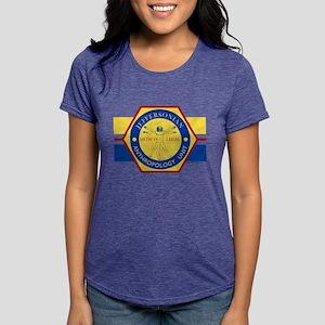 Bones Jeffersonian Anthro Womens Tri-blend T-Shirt
