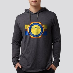 Bones Jeffersonian Anthropology  Mens Hooded Shirt