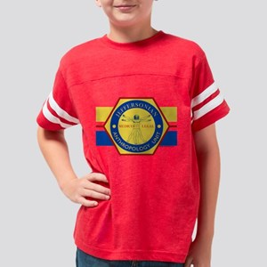 Bones Jeffersonian Anthropolo Youth Football Shirt