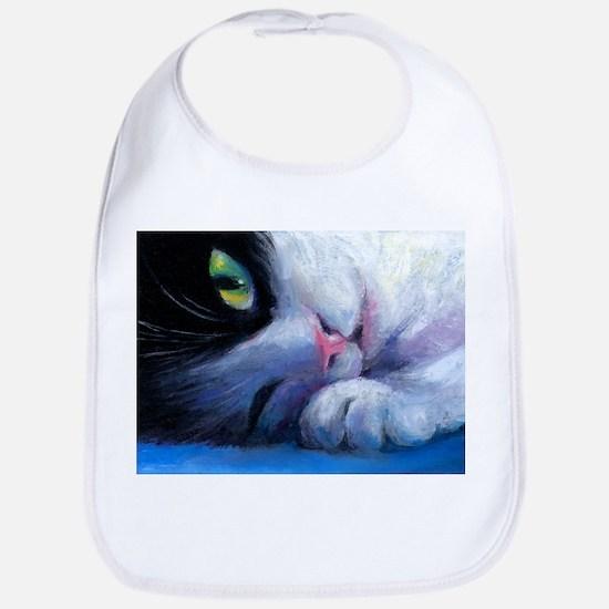 Tuxedo Cat 2 Bib