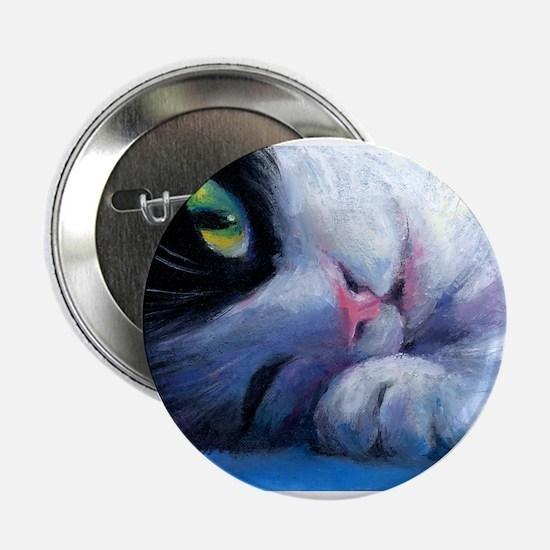 Tuxedo Cat 2 Button