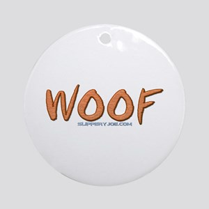 Woof_1a Ornament (Round)