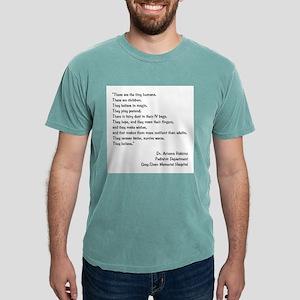 TINY HUMANS Mens Comfort Colors Shirt