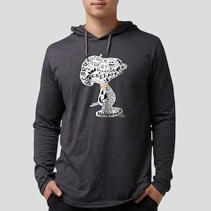 SnoopyyHalloween-dark Mens Hooded Shirt