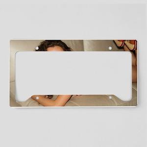 USA Girl License Plate Holder