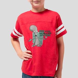 American Dad Girlfriend Dark Youth Football Shirt