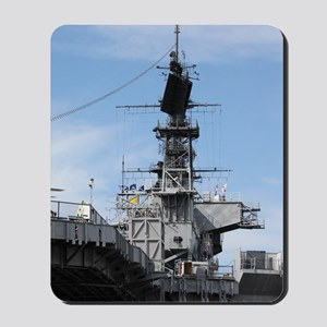 Navy Ship Mousepad