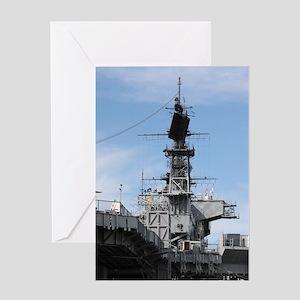 Navy Ship Greeting Card