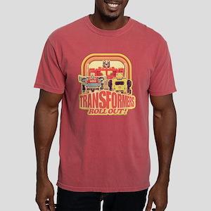 Transformers Retro Roll  Mens Comfort Colors Shirt