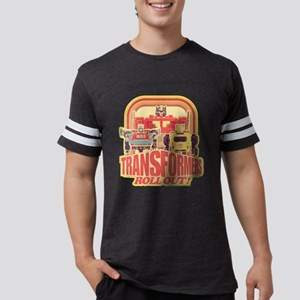 Transformers Retro Roll Out Mens Football Shirt