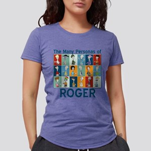 American Dad Roger Person Womens Tri-blend T-Shirt