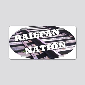 Railfan Nation License Plate