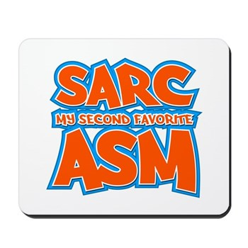 Sarc, My Second Favorite Asm Mousepad