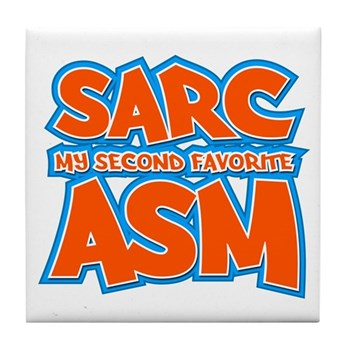 Sarc, My Second Favorite Asm Tile Coaster