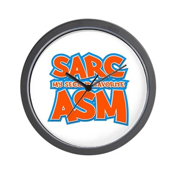 Sarc, My Second Favorite Asm Wall Clock