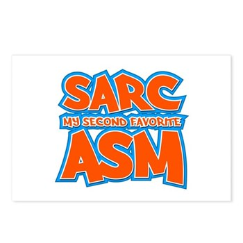 Sarc, My Second Favorite Asm Postcards (Package of