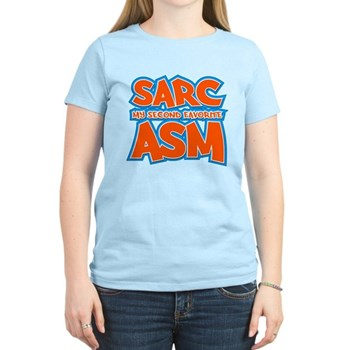 Sarc, My Second Favorite Asm Women's Light T-Shirt