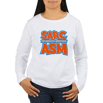 Sarc, My Second Favorite Asm Women's Long Sleeve T