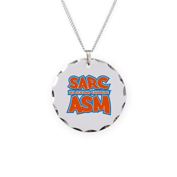 Sarc, My Second Favorite Asm Necklace Circle Charm