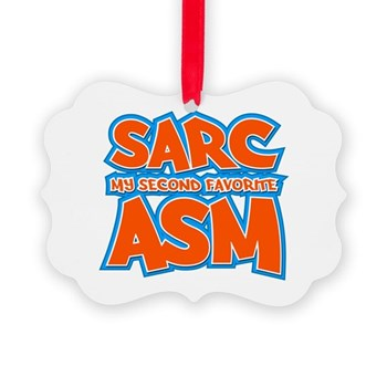 Sarc, My Second Favorite Asm Picture Ornament