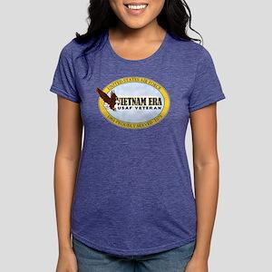 Vietnam Era Air Force Womens Tri-blend T-Shirt