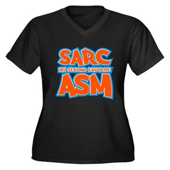 Sarc, My Second Favorite Asm Women's Dark Plus Siz