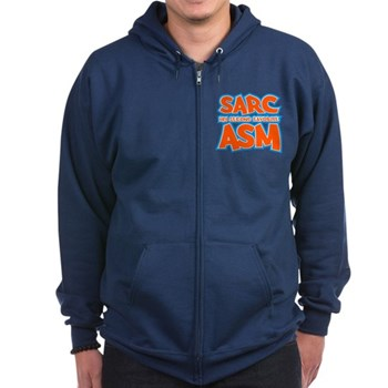 Sarc, My Second Favorite Asm Dark Zip Hoodie