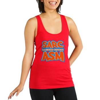 Sarc, My Second Favorite Asm Dark Racerback Tank T