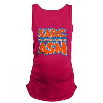 Sarc, My Second Favorite Asm Dark Maternity Tank T