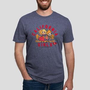 I Love Lucy California Girl Mens Tri-blend T-Shirt