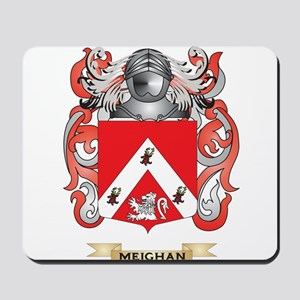 Meighan Coat of Arms - Family Crest Mousepad