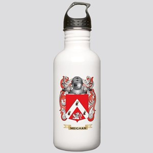 Meighan Coat of Arms - Family Crest Water Bottle