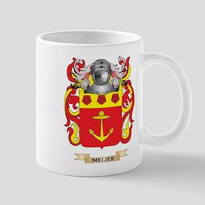 Meijer Coat of Arms - Family Crest Mug