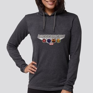 The Defenders Icons Womens Hooded Shirt