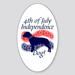Independence Bully! Oval Sticker