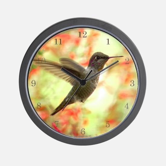 Hummingird Wall Clock