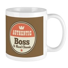 Vintage Boss Design Gift Mug