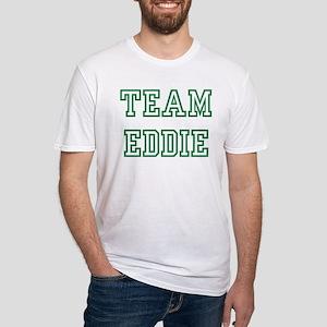 Team EDDIE Fitted T-Shirt