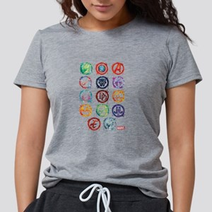 Marvel Icon Favorites Spl Womens Tri-blend T-Shirt