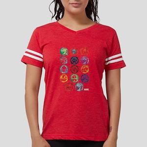 Marvel Icon Favorites Splatt Womens Football Shirt