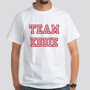 Team EDDIE White T-Shirt