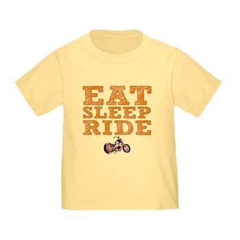 Eat Sleep Ride Infant/Toddler T-Shirt