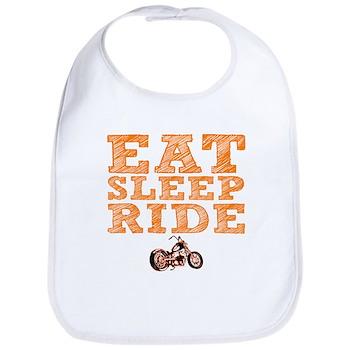 Eat Sleep Ride Bib