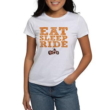 Eat Sleep Ride Women's T-Shirt