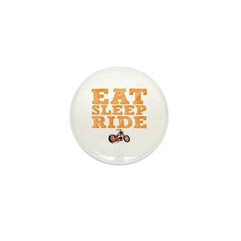 Eat Sleep Ride Mini Button (10 pack)