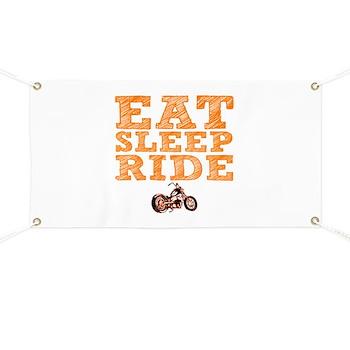 Eat Sleep Ride Banner